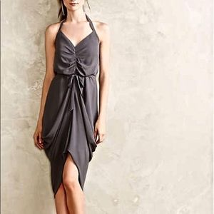 Paper Crown Gray Cocktail Party Dress Size Medium